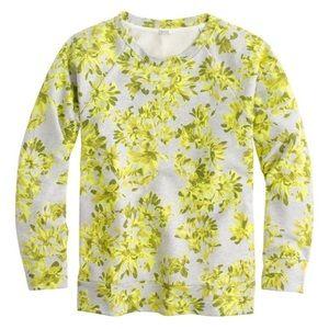 ⚡️SALE J. Crew Floral Sweatshirt